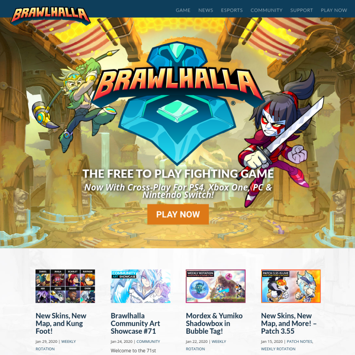 Brawlhalla Player Count