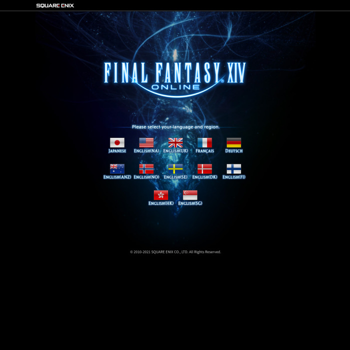 Final Fantasy 14 XIV Player Count