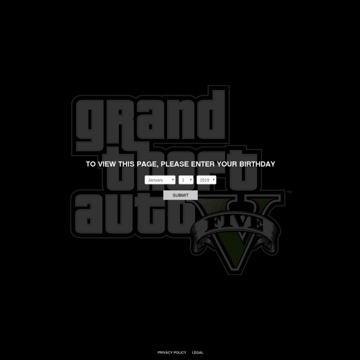 Grand Theft Auto V Player Count