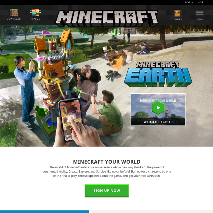 Minecraft Earth Live Player Count