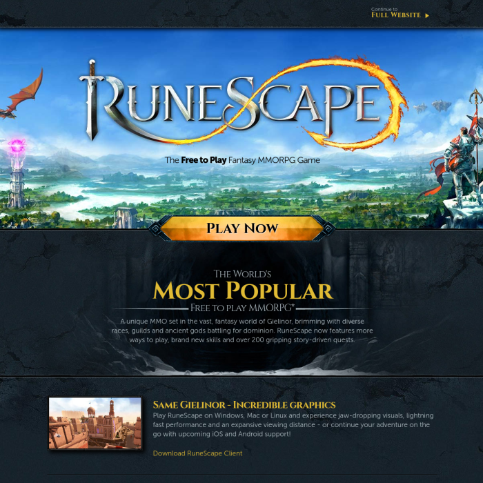 RuneScape Player Count