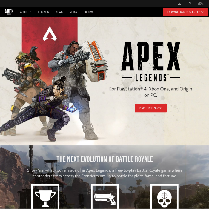 Apex Legends Live Player Count