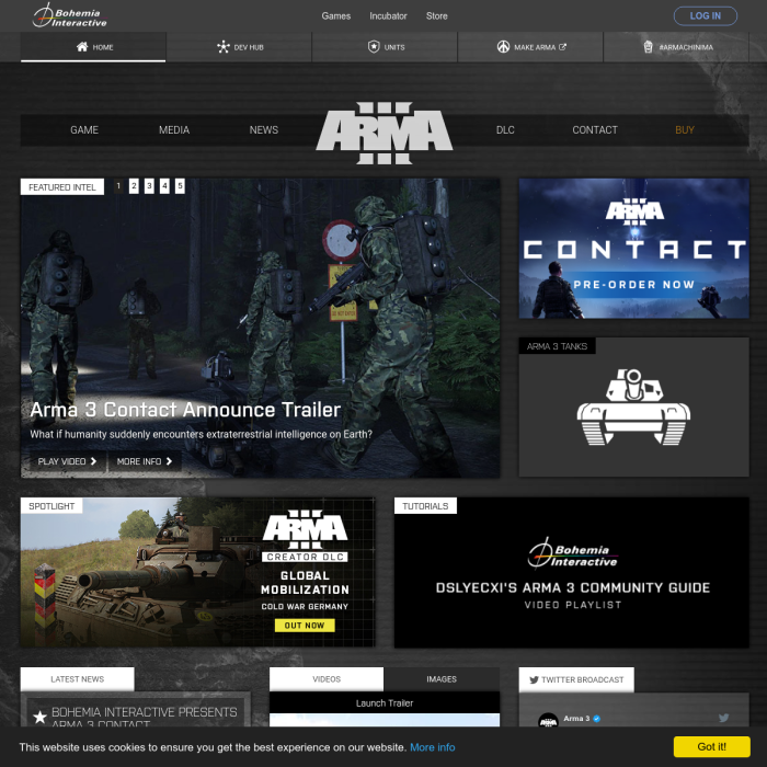 Arma 3 Live Player Count